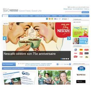 Site Nestlé
