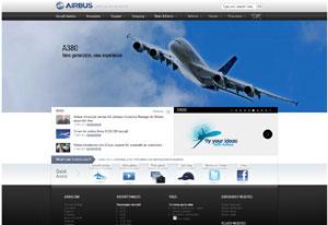 Site Airbus.com