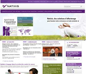 Site Natixis