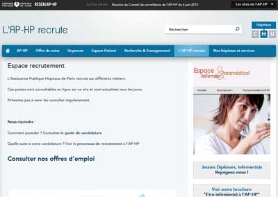 www.aphp.fr/recrutement
