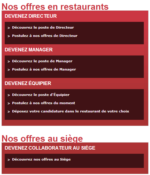 Quick Recrutement   .recrute.quick.fr | Job Recrutement