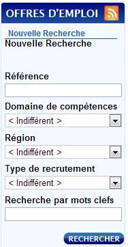 Vous pouvez trouver les offres d'emplois de la Banque de France