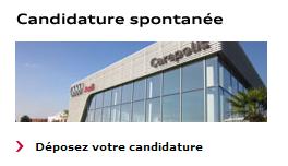 Déposez une candidature spontanée sur Audi France